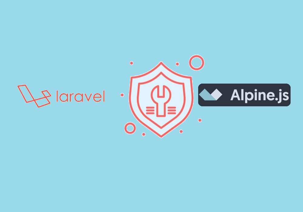 Create Alert Message using Laravel Component with Alpine.js