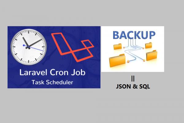 Laravel Task Scheduling for Export MySQL Database into SQL and JSON Format
